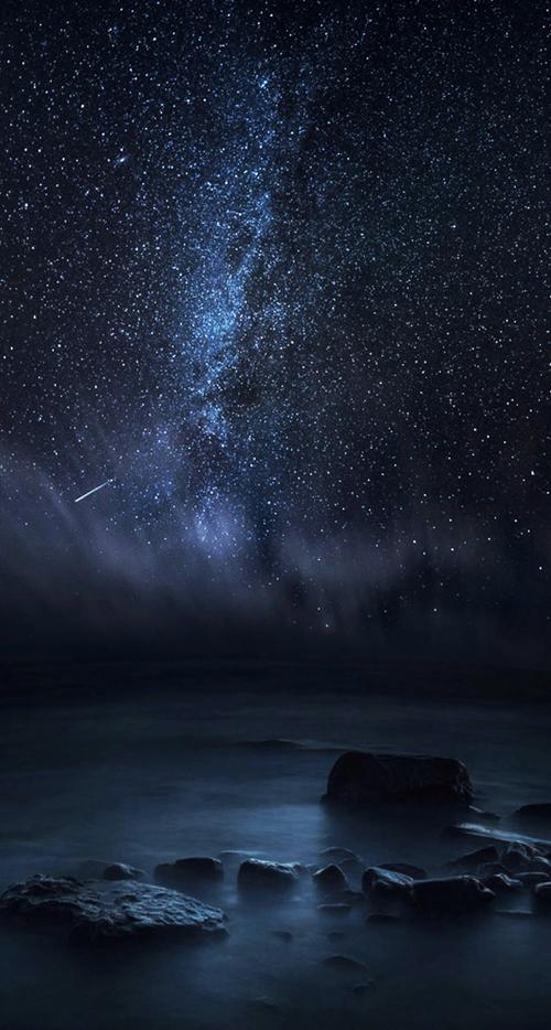 Night Beautiful Iphone Stars Wallpaper Night Sky Photography Surreal Photos Breathtaking Photography