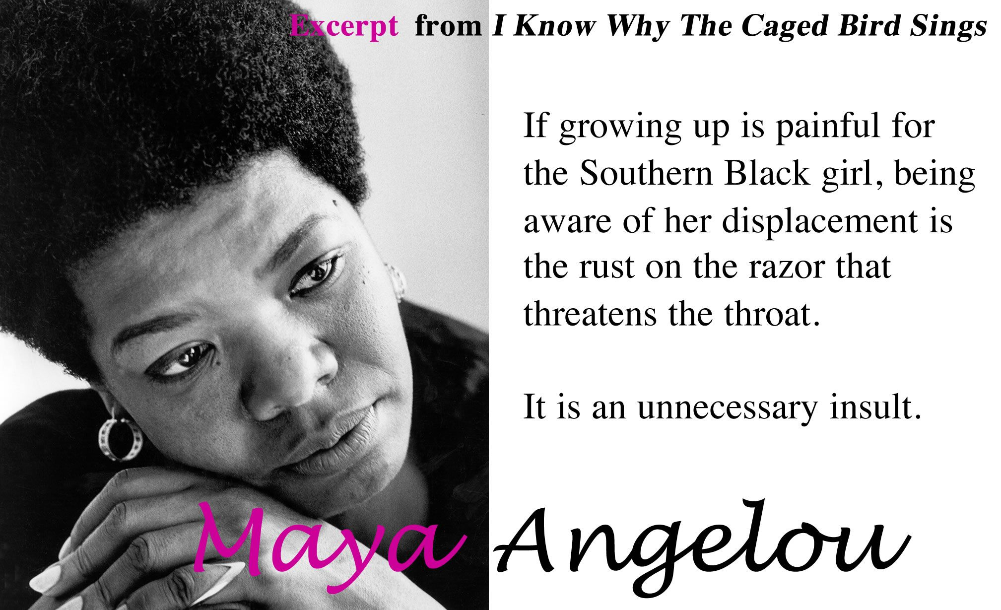 Why caged the angelou bird maya i sings know countdown.top100.winespectator.com: I