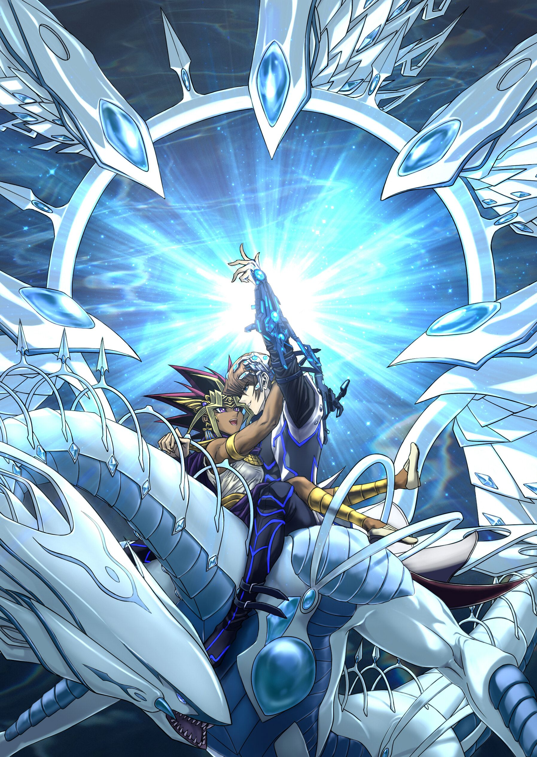 YuGiOh! The Dark Side of Dimensions Seto Kaiba Pharaoh
