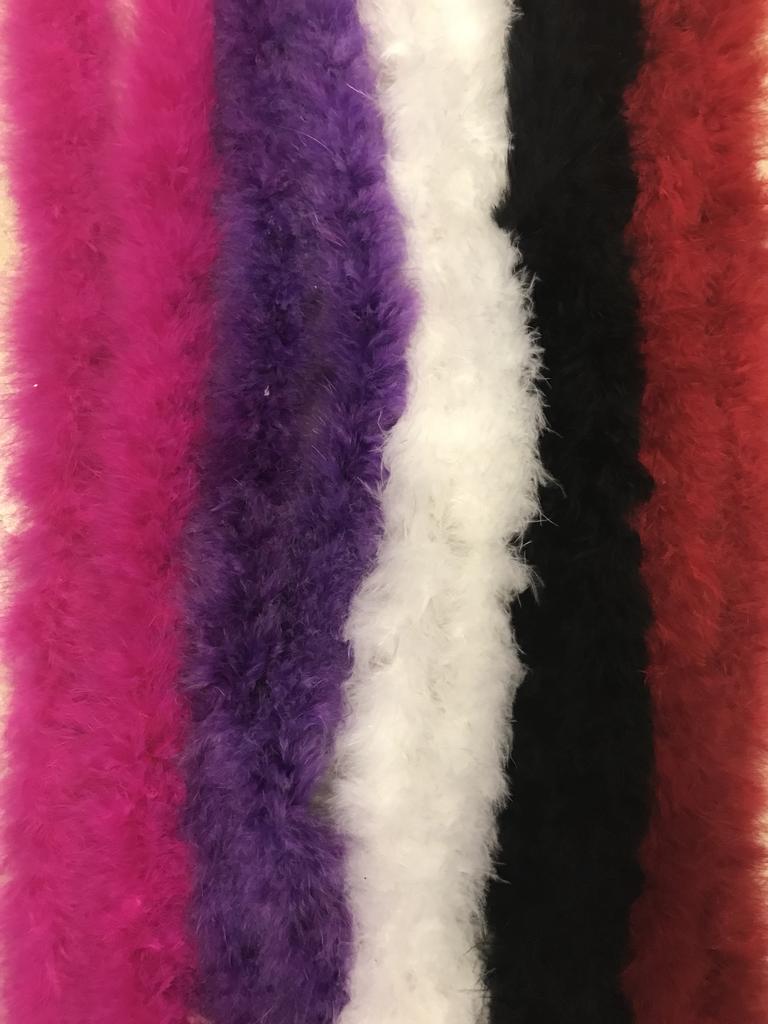 Marabou Feather Boas 25 Gram Choose Your Color Feather Boa Feather Turkey Feathers