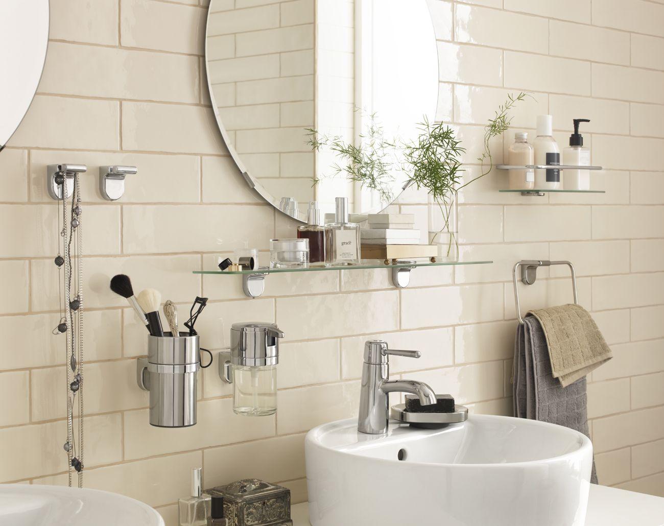 Accessoire Salle De Bain Couleur Or ~ salle de bain o tout est port e de main avec les accessoires
