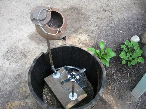 gartenbrunnen selber bauen anleitung | Garten | Pinterest | Gardens