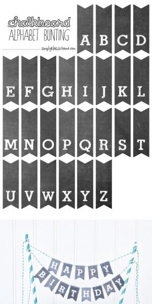 This is a graphic of Printable Chalkboard Letters pertaining to lettering