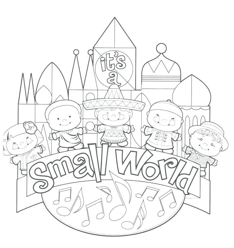 Around The World Coloring Pages The World Coloring Pages World Coloring Pages Its A Small World Disney Coloring Pages Disney Colors Free Disney Coloring Pages