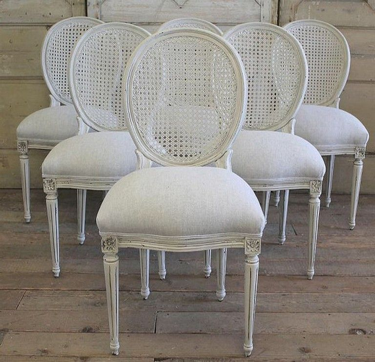 35 Unique Cane Chairs Design Ideas With French Style Dinning