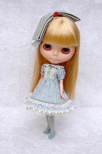 Alice in blue