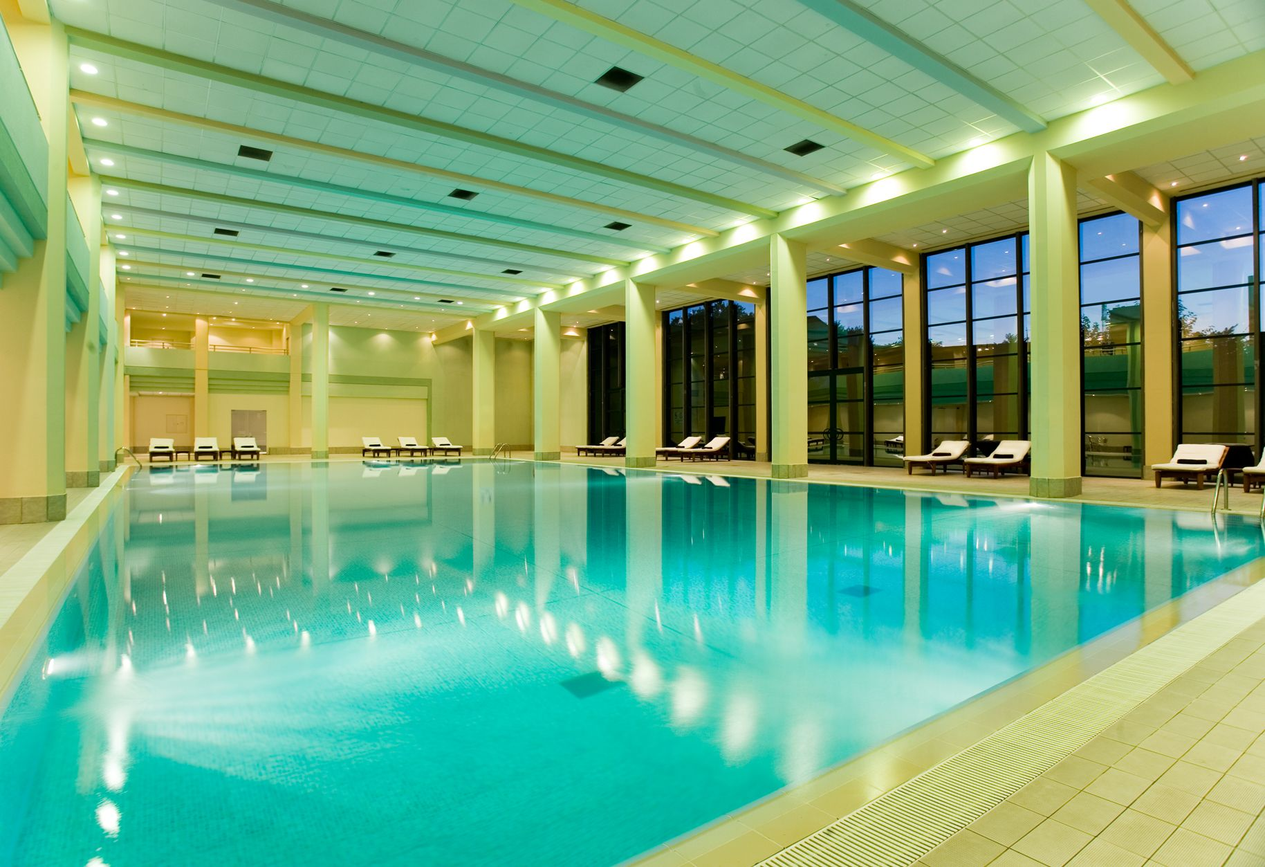 Tis The Season For Beautiful Indoor Pools Like The Lovely Oasis At Park Hyatt Baku Pool Picture Hotel Hotel Pool