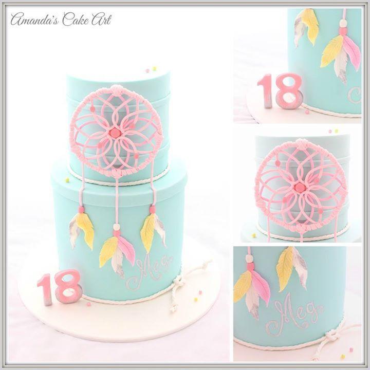 gorgeous dreamcatcher cake