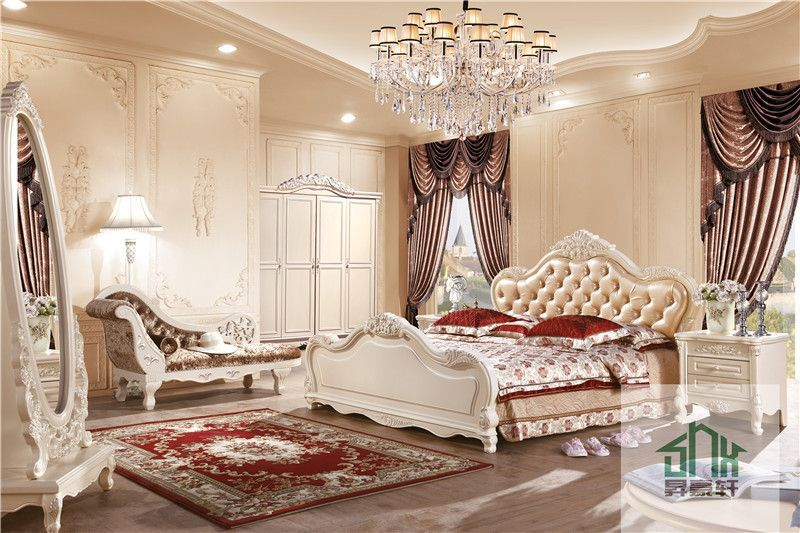 Ha-918# Royal Furniture Bedroom Sets Italian Bedroom Sets Luxury - Italian Bedroom Sets