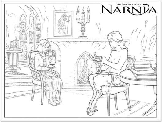 Narnia Coloring Pictures for Children | The Chronicles Narnia ...