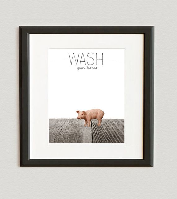 CHILDREN PRINTS FARM ANIMALS CANVAS PICTURES WALL ART POSTER FOR KIDS ROOM DECO