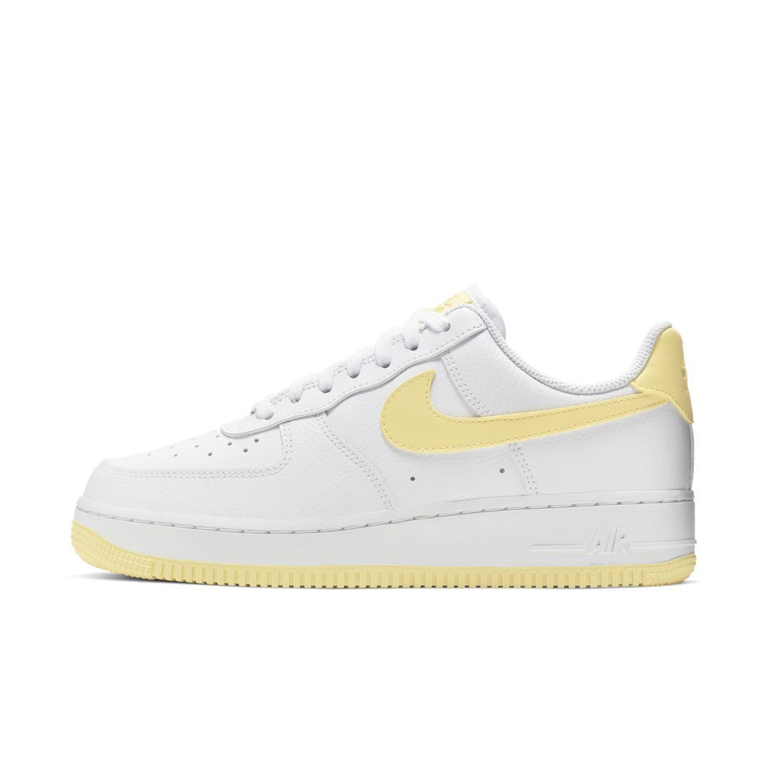 Nike Air Force 1 07 Patent White Yellow : Release date, Price & Info