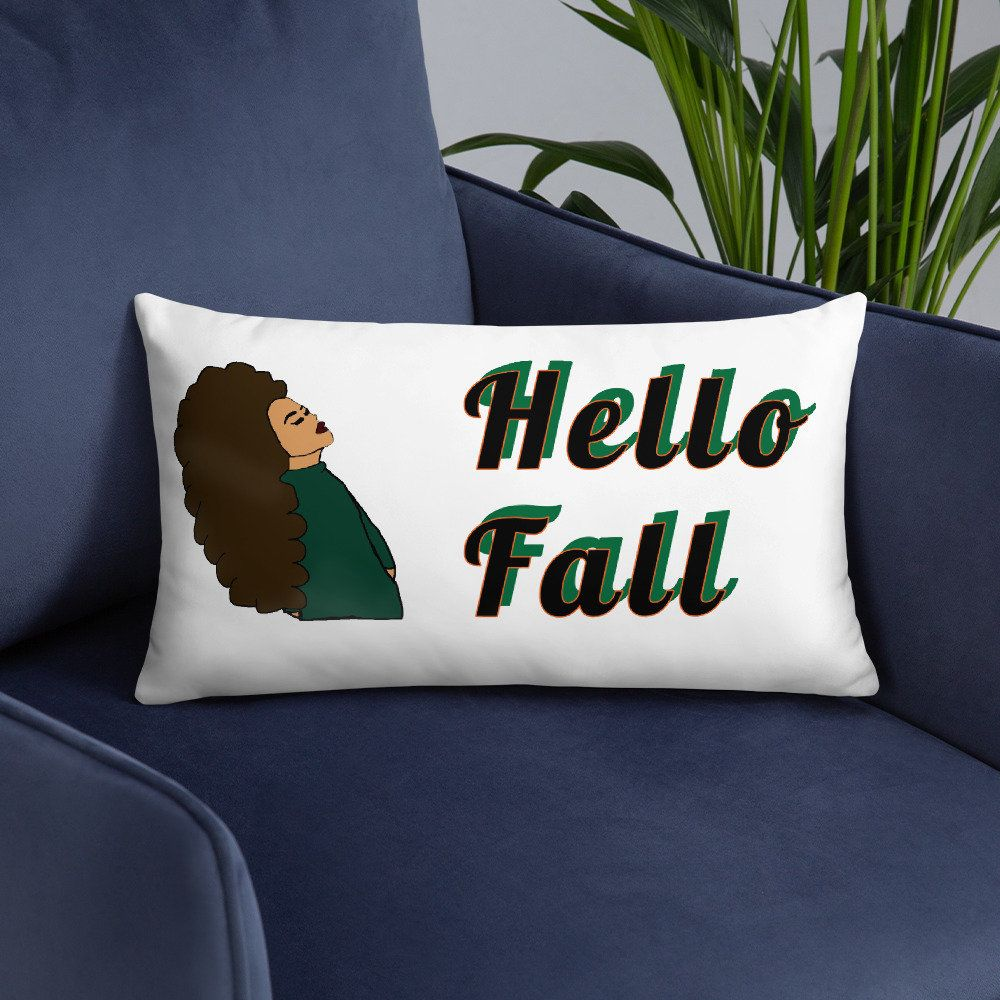 MJolee Personalized Hello Fall Basic Pillow #hellofall