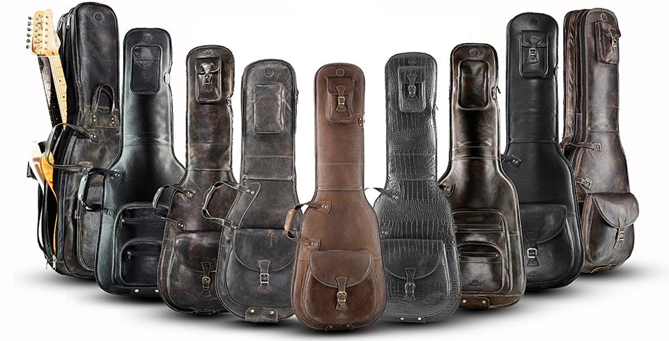 Harvest Fine Leather Gig Bags Guitar Gear Guitar Bag Leather