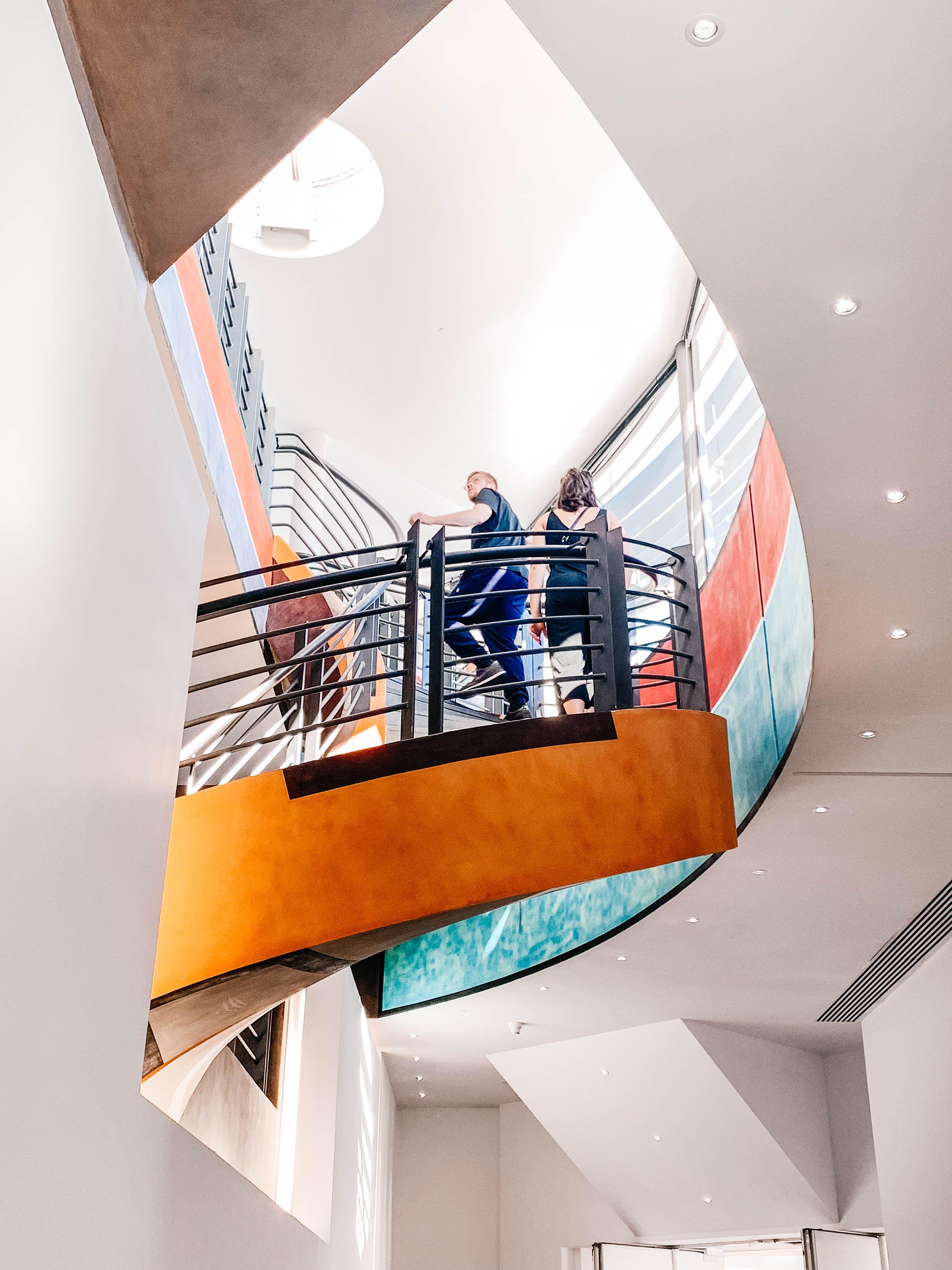 Musée D'art Moderne Et D'art Contemporain De Nice : musée, d'art, moderne, contemporain, MAMAC, Musée, D'art, Moderne, Contemporain, Virtual, Fixed, Thrill, Contemporary, Stairway, Pictures,, Museum