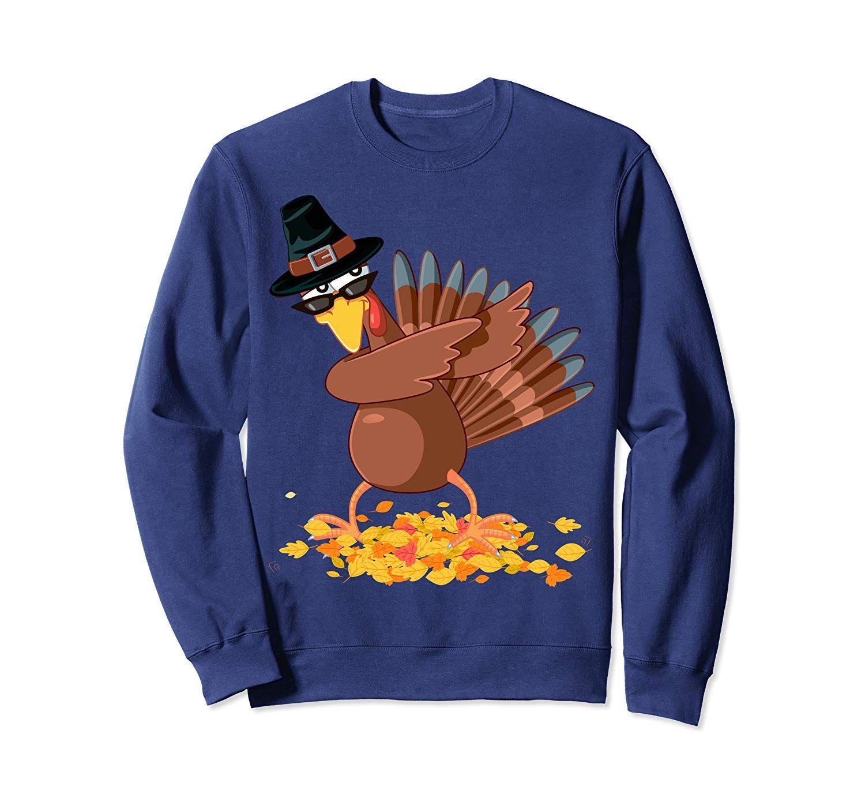 Dabbing Pilgrim Dab Turkey Happy Thanksgiving Day Hello Fall Sweatshirt #hellofall