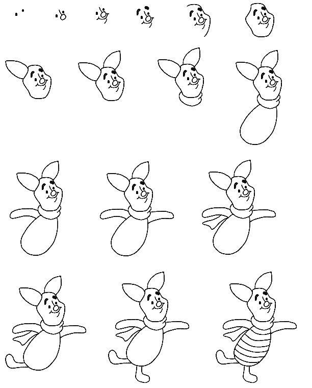 Titanium Easy Disney Drawings Cartoon Drawings Cute Disney