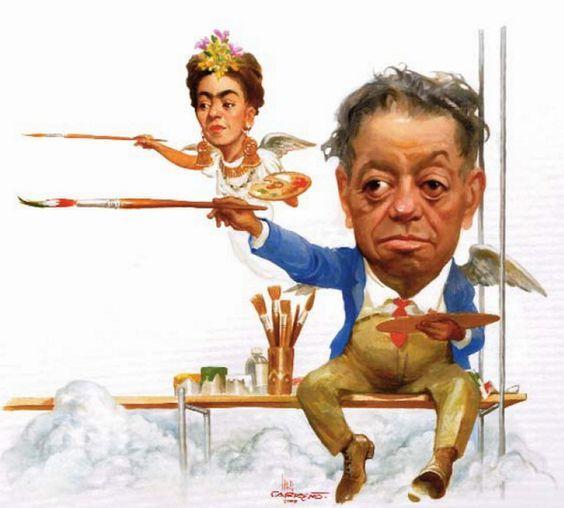 Diego Rivera Caricatura Buscar Con Google Frida And Diego Diego Rivera Caricature