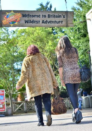 Guests wearing animal print will be forced to leave or have to put on specially-made Chessington Zoo clothes. (Chessington World of Adventur...
