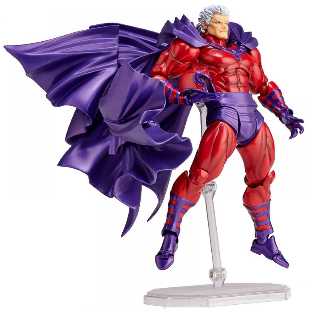 X Men Magneto Action Figures Series 006 Collection Bjd Model Toys Doll 16cm Action Hero Figures Action Figures Marvel X X Men