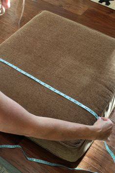 How To Make Custom Cushion Covers With Confessions Of A Serial Do It Yourselfer