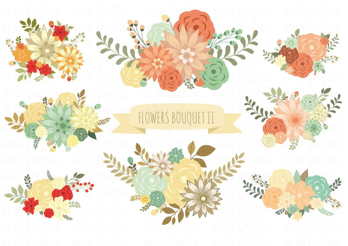 Image Result For Rustic Floral Clip Art