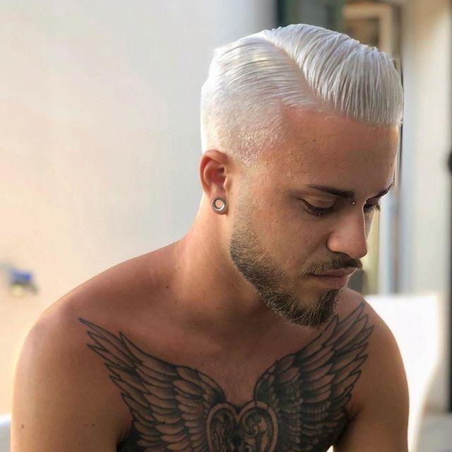 Frisuren männer undercut grau ist kühler als je zuvor und