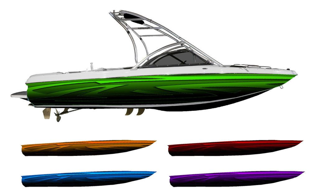 Tribal Low Rider Boat Wrap Customized For Your Boat Choose - Sporting boat decalsbest boat wraps custom vinyl images on pinterest boat wraps