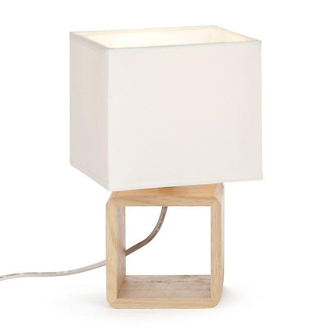 lampe de chevet bois et blanc design de maison. Black Bedroom Furniture Sets. Home Design Ideas