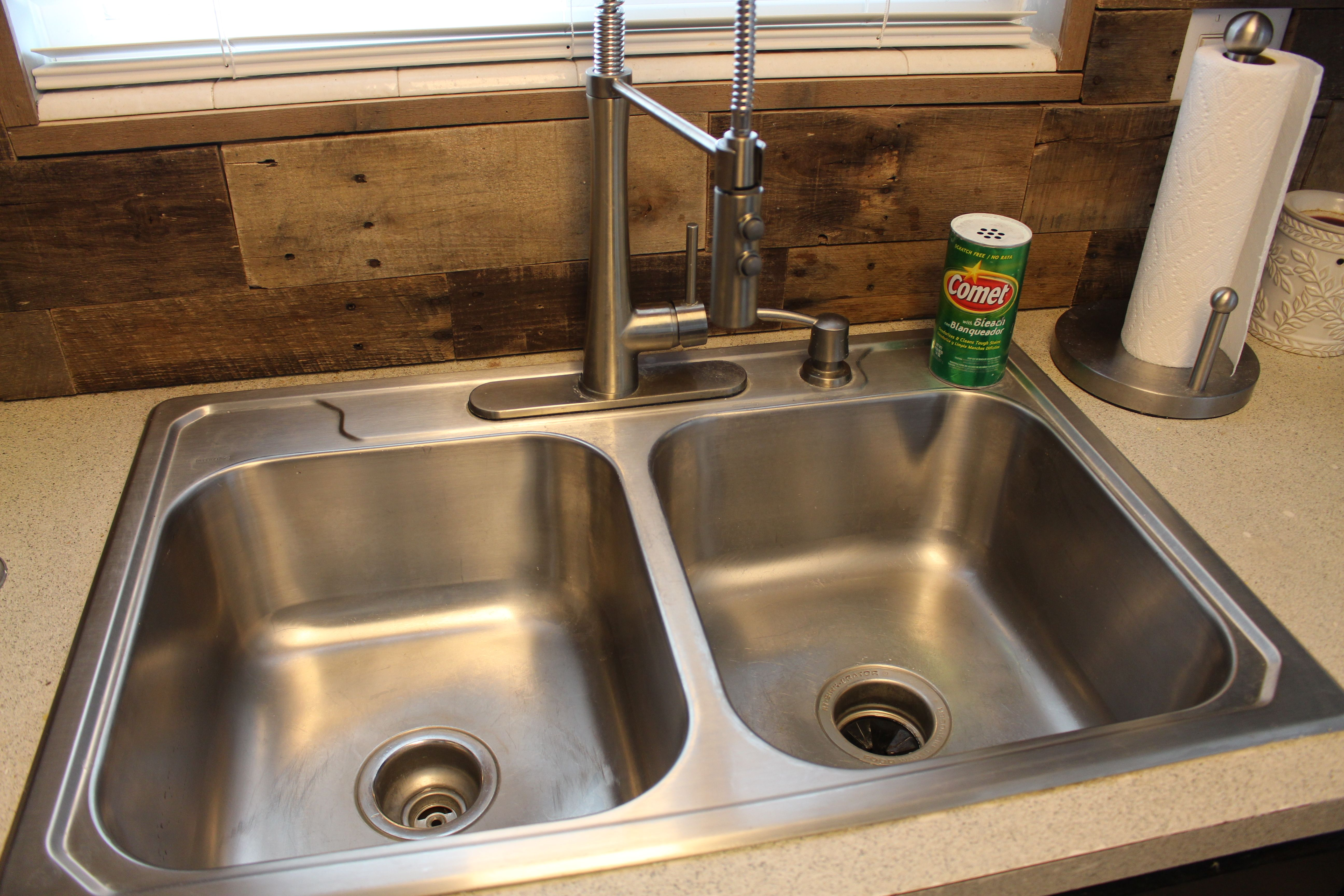 Go to Bed with a CLEAN kitchen sink! Clean kitchen sink