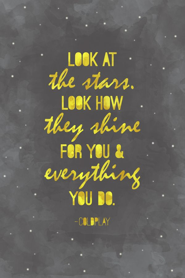 Song Lyric Quotes · Here Are The Top Coldplay Songs Chosen By Fans Cause I  Love Typography.