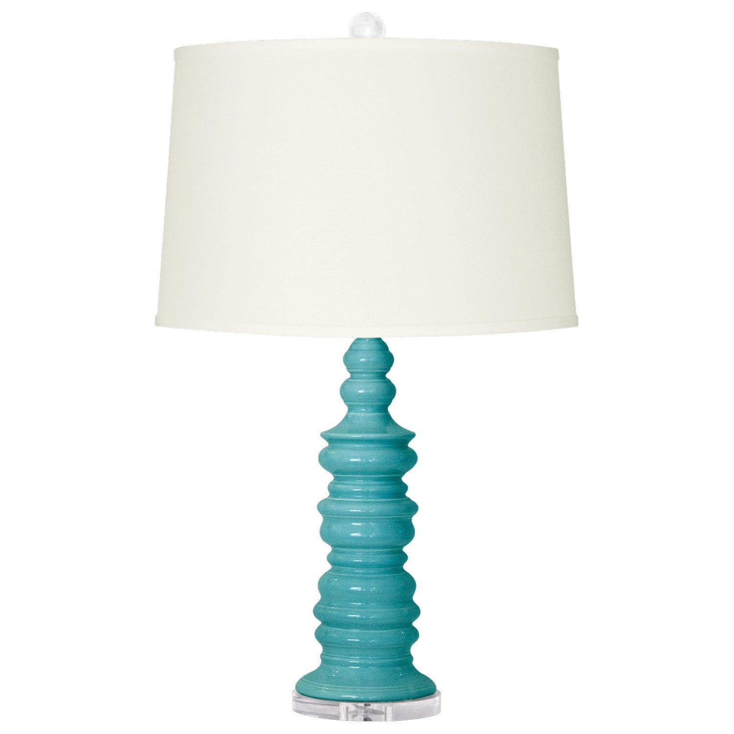 Bungalow 5 Aurora Turquoise Table Lamp Laylagrayce