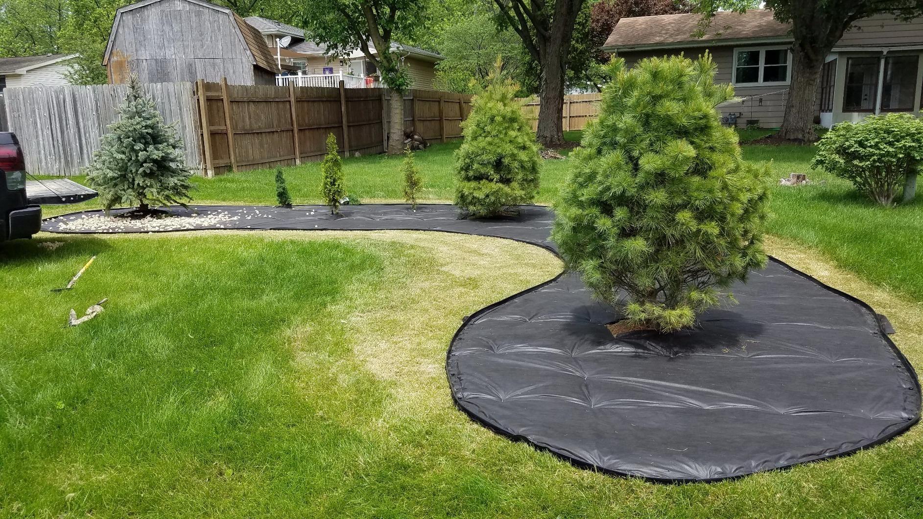 Amazon Com Dimex Easyflex No Dig Plastic Landscape 400 x 300