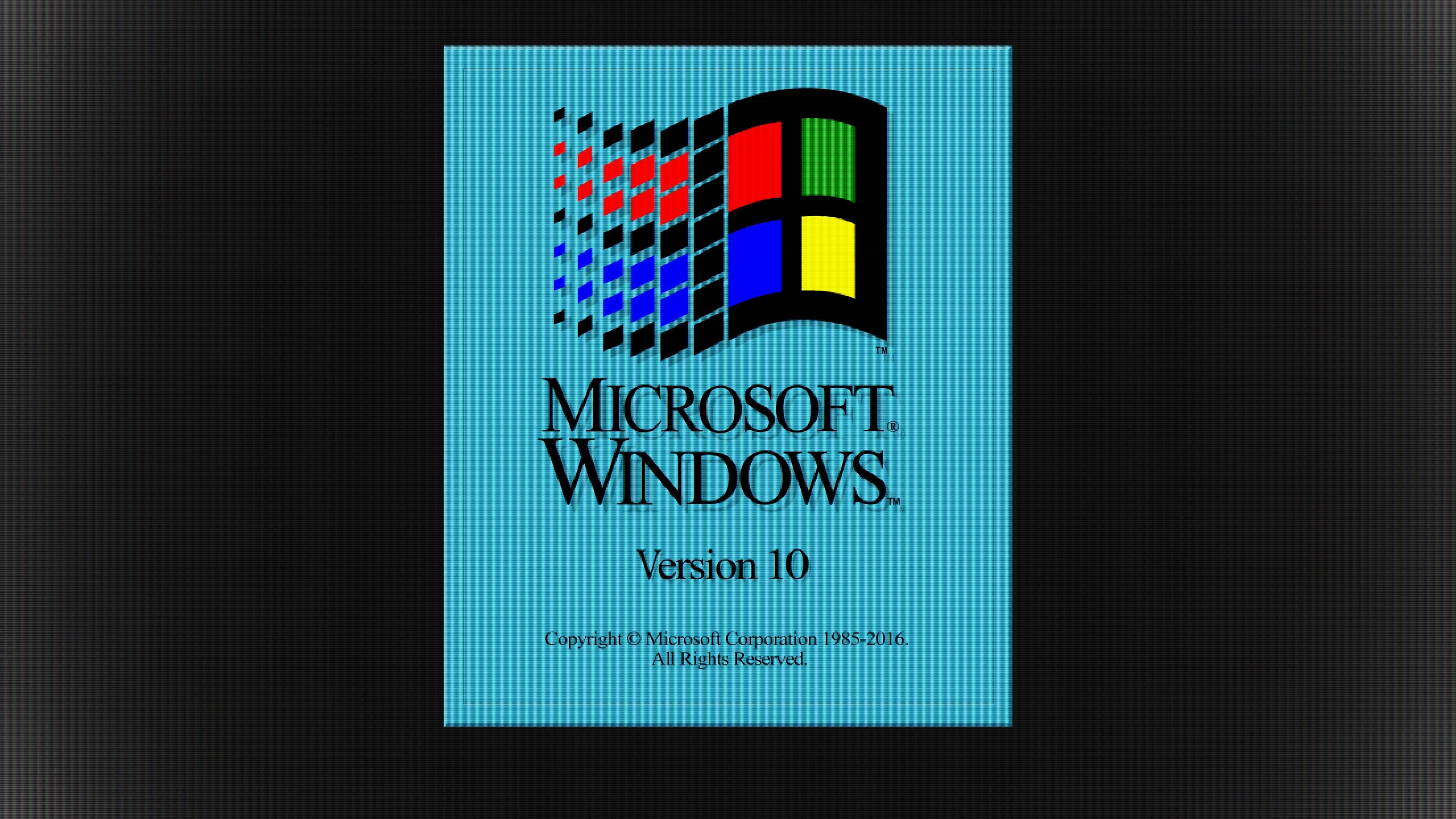 Windows 10 Retro 3 1 Boot Splash Hq Backgrounds Hd Wallpapers Gallery Gallsource Com Background Hd Wallpaper Hd Wallpaper Wallpaper