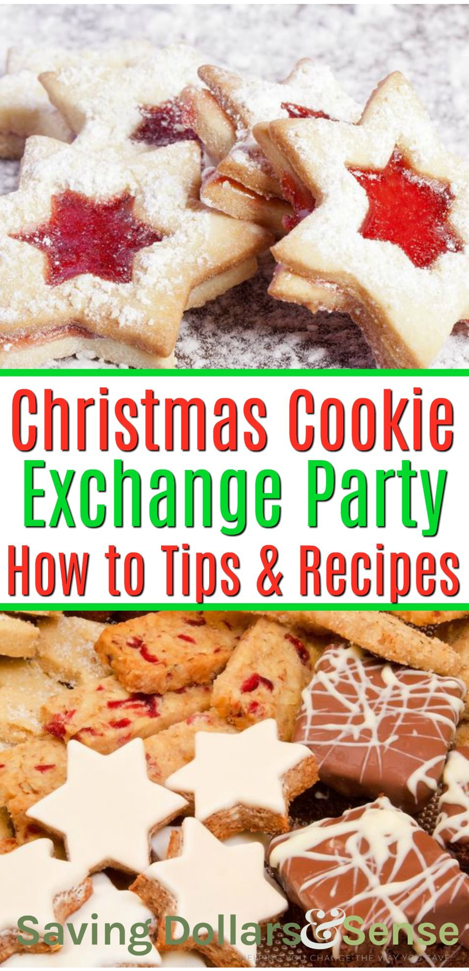 Christmas Cookie Exchange Tips For Planning The Perfect Cookie Exchange Along With The Best Christmas Cookie Exchange Christmas Cookies Cookie Exchange Party
