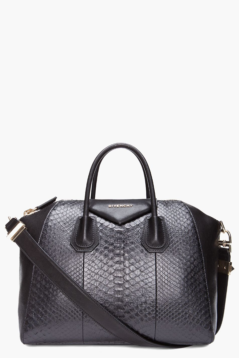 2bb7c17ffa Givenchy Medium Python Antigona Duffle Bag