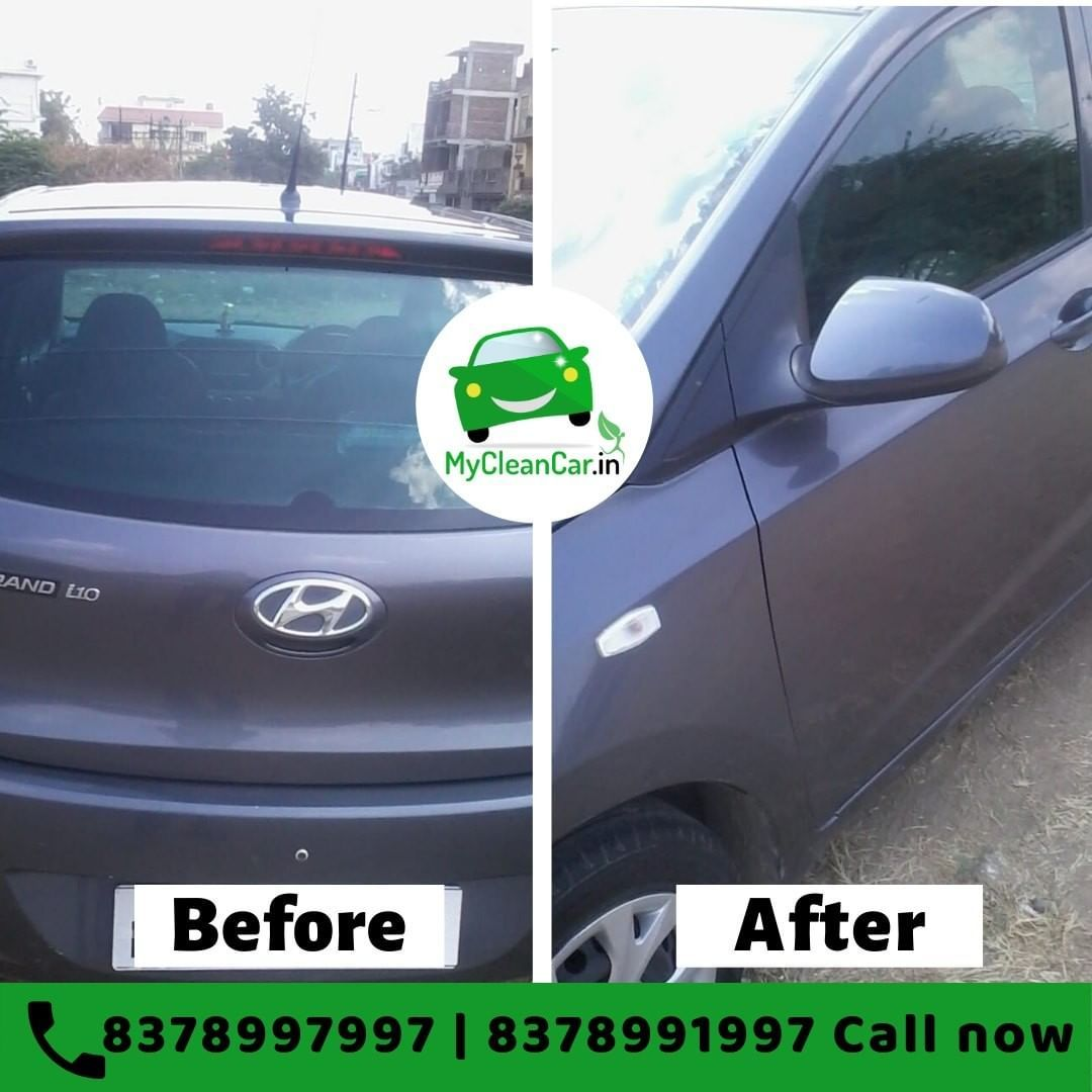 Keeping your car clean and shining is our responsibility, That too without wasting water. . MyClean