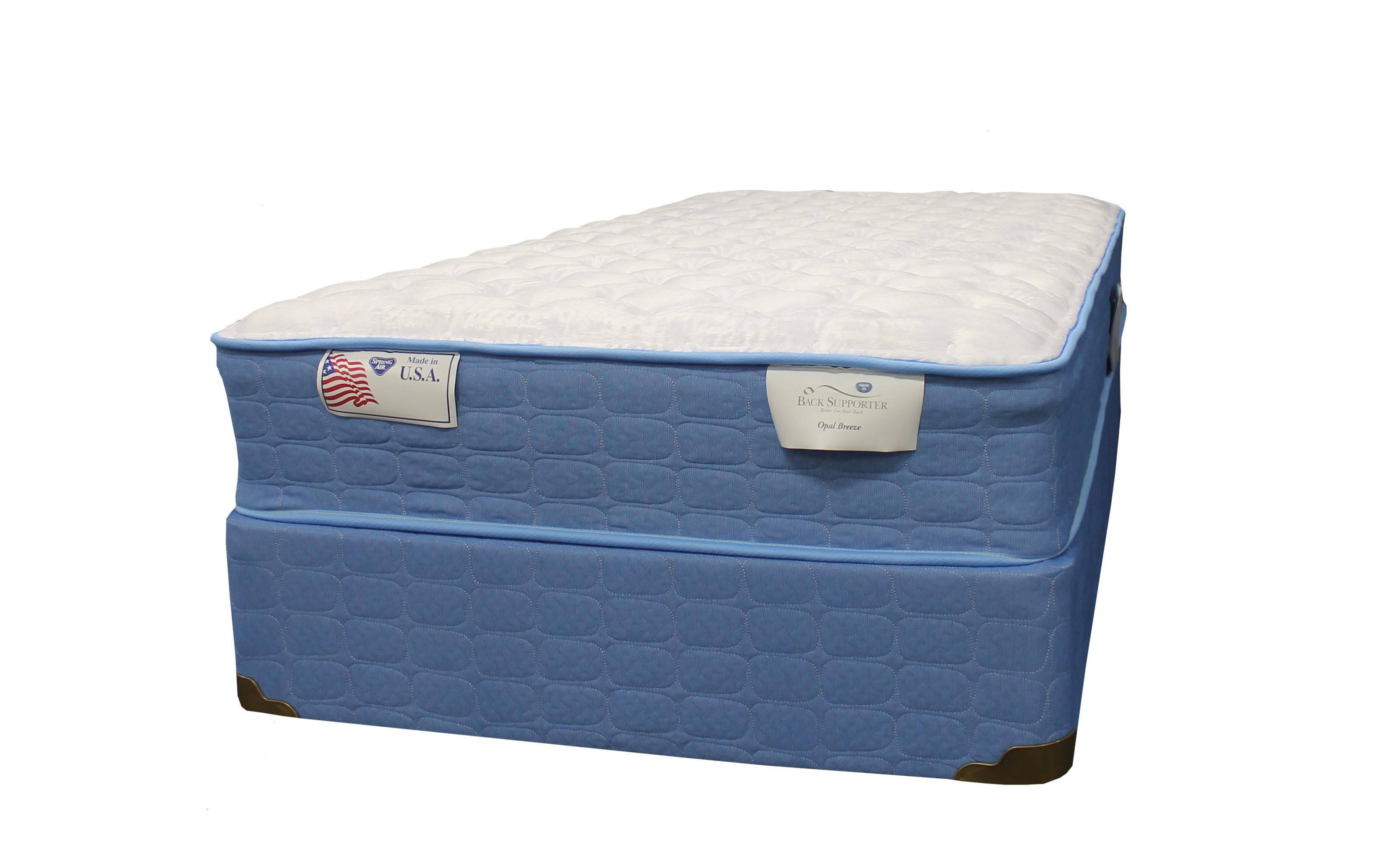 spring o pedic joyful twin plush mattress by spring air mattress