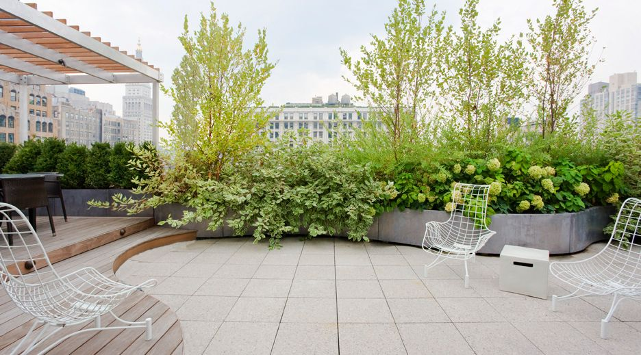 Curved Design Repined By Www Claudiadeyongdesigns Com Roof Garden Garden Stairs Patio