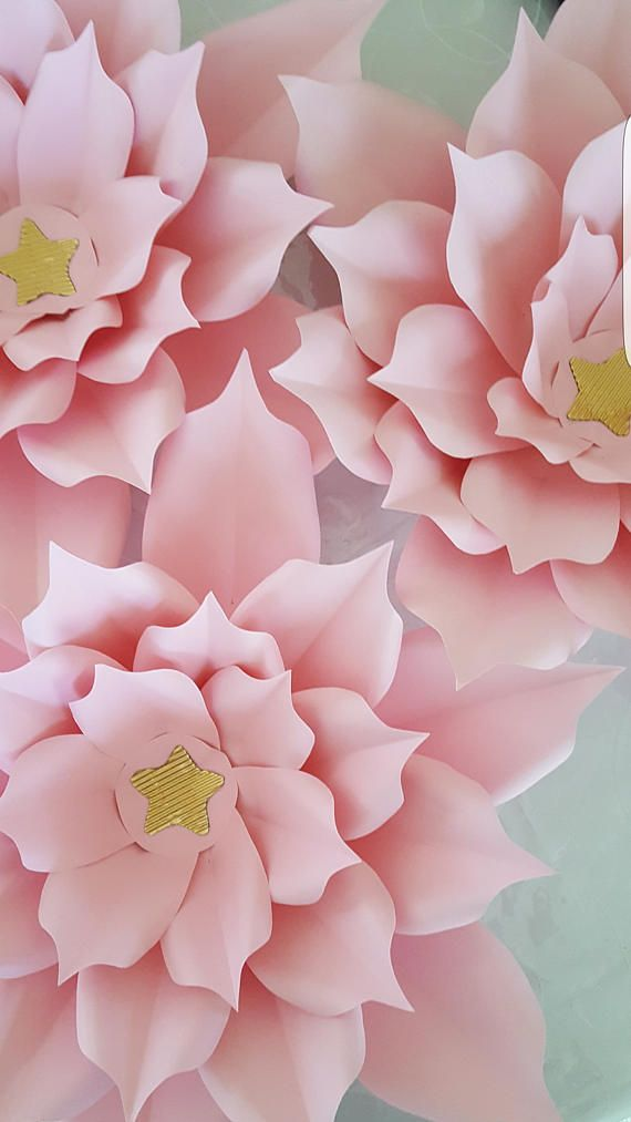 Paper flower template and base in pdf digital 15 template pdf paper flower template in pdf digital 15 mightylinksfo
