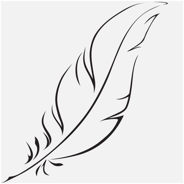 Line Drawing Feather : Paper crane line drawing below are iterations of the