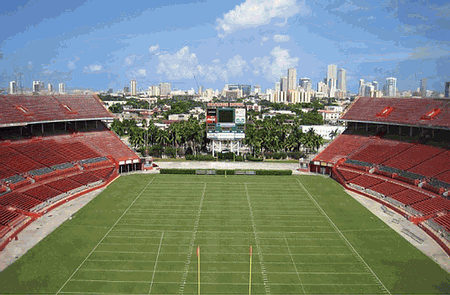 Orange Bowl Stadium Gone But Never Forgotten University Of Miami Hurricanes Orange Bowl South Florida