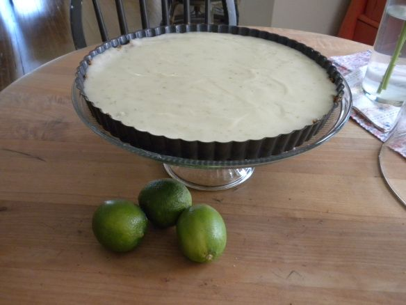 Dairy free key line pie. Just need a sub for the crust.