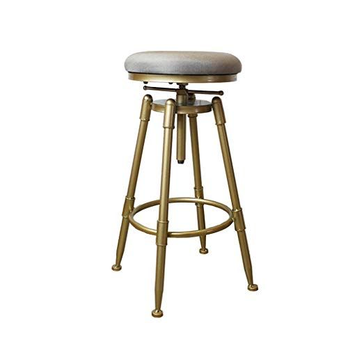 Metal Industrial Counter Barstool With Backrest Adjustable Indoor Swivel Stool Metal Legs And Sponge Seat Kitchen Stool C Swivel Stool Stool Chair Bar Stools