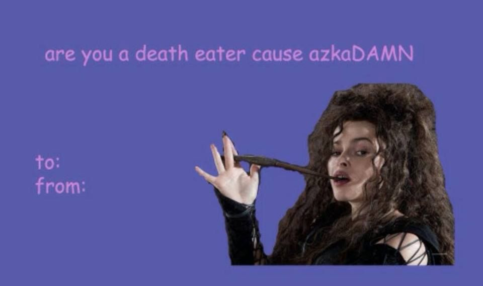 caa011732dd9e0845d3033a40a7e21ba are you a death eater, cause azkadamn! book lovin' pinterest