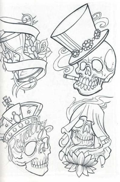 Tattoo Sketches Skull Tattoo Flash For Free Skull Tattoos