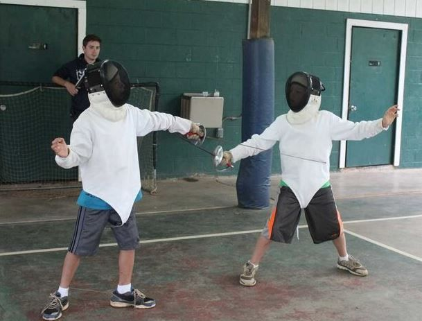 Fencing is one of the many fun activities we offer at Camp Friendship! Are you ready to give it a try next summer?
