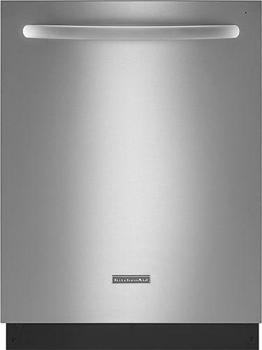 Kitchenaid Architect Series Ii 24 Built In Dishwasher Steel Tub Integrated Dishwasher