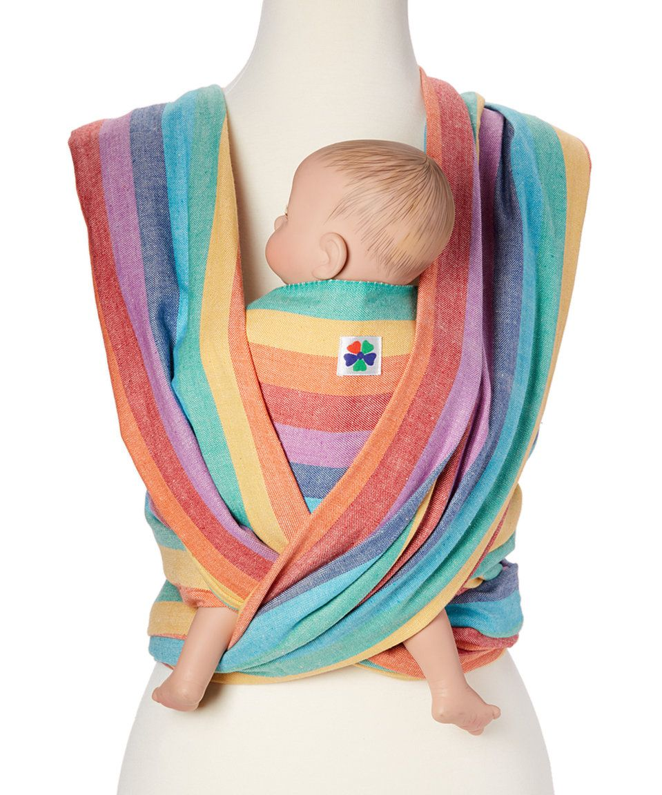 Take a look at this Hip Baby Wrap Summer Rainbow Woven ...