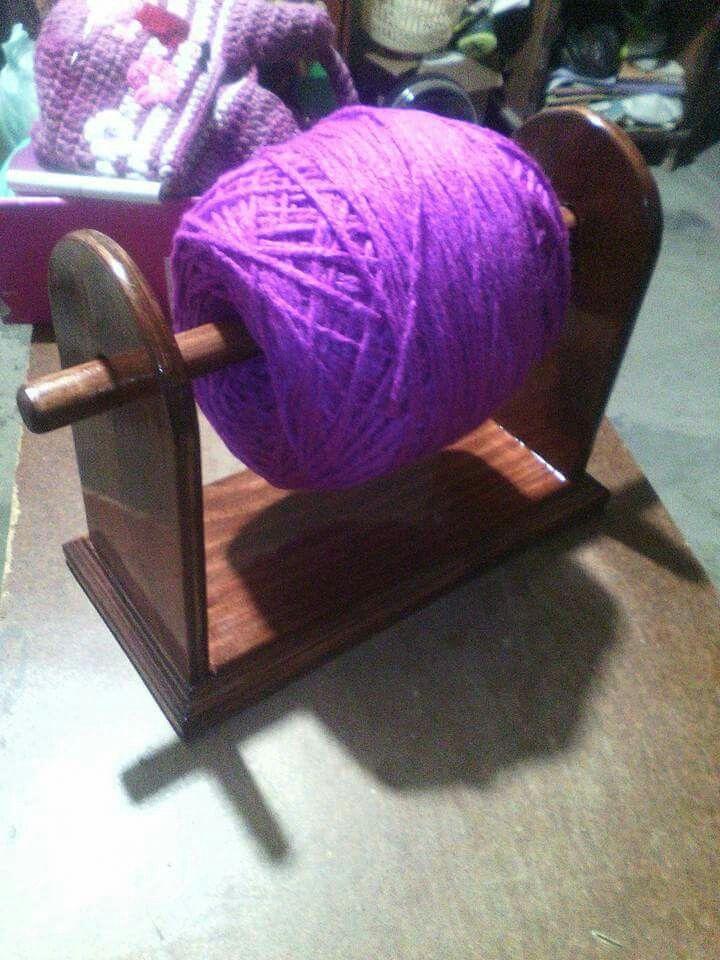 Porta estambre | Crocheting | Pinterest | Patrones libres de ...